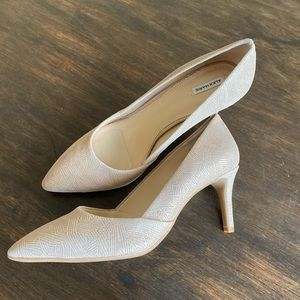 New Alex Marie Nude Leather Pumps